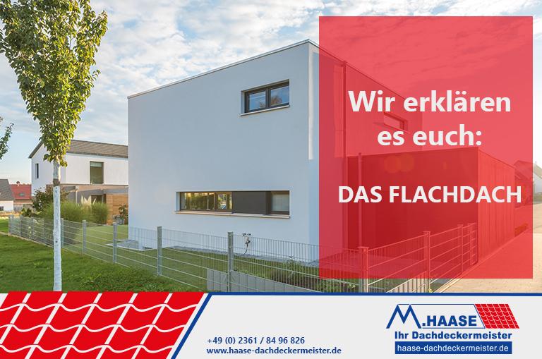 Dacharten vorgestellt das Flachdach vom Dachdeckermeister Haase aus Recklinghausen